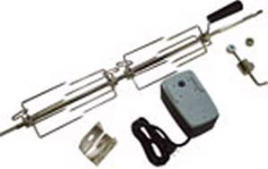 Napoleon 64605 - Heavy Duty Rotisserie Kit Spit Rod w/Motor and Light