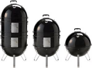 Napoleon Apollo Series AS300K - 3-in-1 Charcoal Smoker