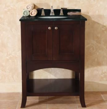 Empire Industries Open Empress Collection OE24SC - 24 Inch Spice Cherry Vanity