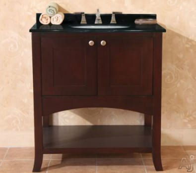 Empire Industries Open Empress Collection OE30SC - 30 Inch Spice Cherry Vanity