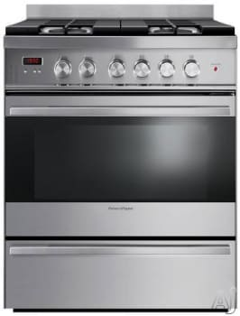 "Fisher & Paykel OR30SDBMX1 - 30"" Gas Range"