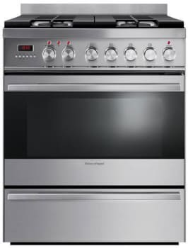 "Fisher & Paykel OR30SDPWGX1 - 30"" Dual Fuel Range"