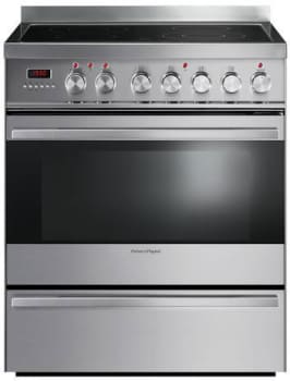 "Fisher & Paykel OR30SDPWSX1 - 30"" Smoothtop Electric Range"