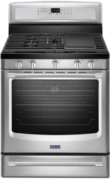 Maytag MGR8800DS - Stainless Front
