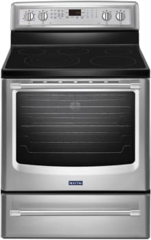 Maytag Heritage Series MER8850DS - Stainless Front