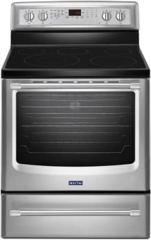 Maytag MER8800DS - Stainless Front