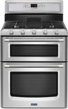 Maytag Heritage Series MGT8820DS - Stainless Front