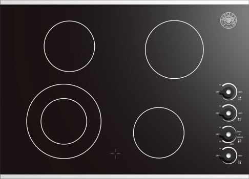 "Bertazzoni Design Series P30CERNE - 30"" Electric Ceramic Cooktop"