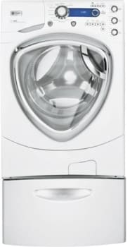 GE Profile PFWS4600LWW - White w/ Optional Pedestal (Sold Separately)