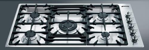 Smeg Classic Design PGF95U3 - Stainless Steel Side Controls