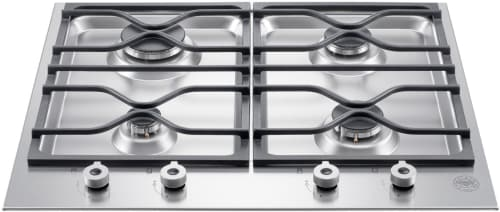 "Bertazzoni Professional Series PM24400X - 24"" Segmented Gas Cooktop"