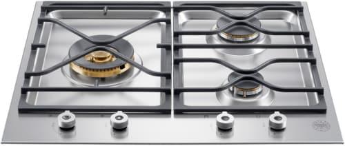 "Bertazzoni Professional Series PMB24300X - 24"" Segmented Gas Cooktop"