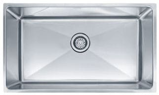 Franke Professional Series PSX1103010 - Single Bowl Stainless Steel Sink