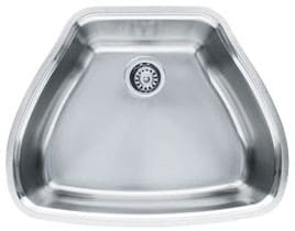 Franke Centennial Series CQX11024 - Stainless Steel Single Bowl Sink