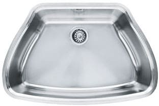 Franke Centennial Series CQX11029 - Stainless Steel Single Bowl Sink