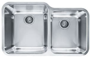 Franke Largo Series LAX16033 - Undermount Double Bowl Stainless Steel Sink