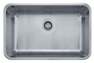 Franke Grande Series GDX11028 - Single Bowl Stainless Steel Sink
