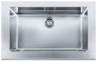 "Franke Manor House Series MHXKBX11028 - 33"" Stainless Steel Sink"