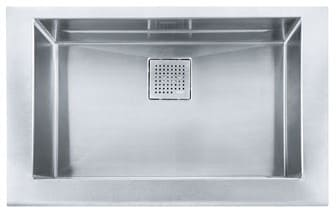 Franke Manor House Series MHXPKX11028 - Apron Front Single Bowl Stainless Steel Sink