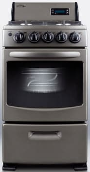"Summit PRO20 - 20"" Freestanding Gas Range"