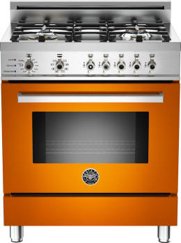 Bertazzoni Professional Series PRO304DFSAR - Orange