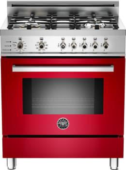 Bertazzoni Professional Series PRO304DFSROLP - Red