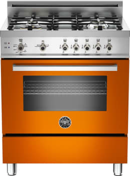 Bertazzoni Professional Series PRO304GASAR - Orange