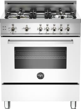 Bertazzoni Professional Series PRO304GASBILP - White