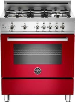 Bertazzoni Professional Series PRO304GASRO - Red