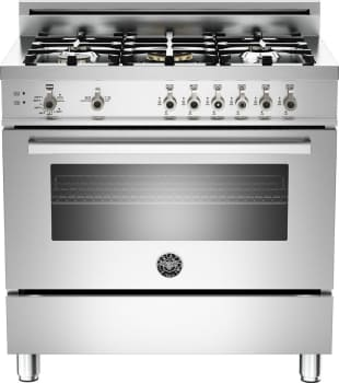 Bertazzoni Professional Series PRO365GAS - Stainless Steel