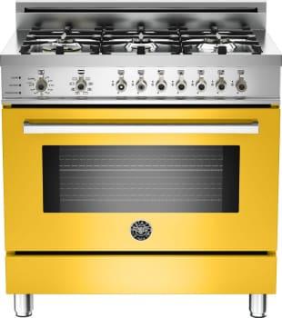 Bertazzoni Professional Series PRO366DFSGI - Yellow