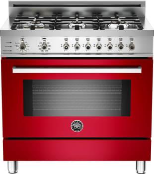 Bertazzoni Professional Series PRO366DFSRO - Red