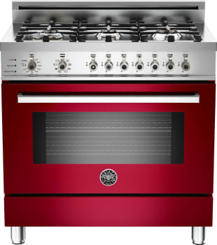 Bertazzoni Professional Series PRO366DFSVI - Red Wine
