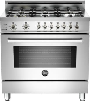 Bertazzoni Professional Series PRO366DFS - Stainless Steel