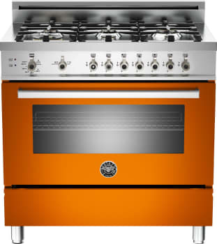 Bertazzoni Professional Series PRO366DFSAR - Orange