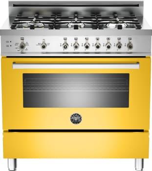 Bertazzoni Professional Series PRO366GASGILP - Yellow