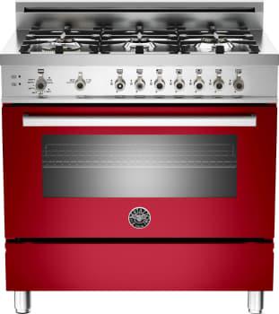 Bertazzoni Professional Series PRO366GASROLP - Red