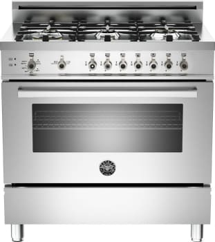 Bertazzoni Professional Series PRO366GAS - Stainless Steel