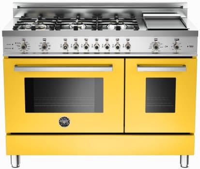 Bertazzoni Professional Series PRO486GDFSGILP - Yellow
