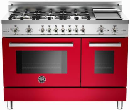 Bertazzoni Professional Series PRO486GDFSRO - Red