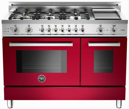 Bertazzoni Professional Series PRO486GDFSVI - Red Wine