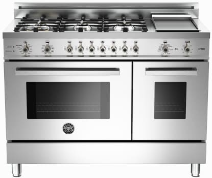 Bertazzoni Professional Series PRO486GDFSX - Stainless Steel