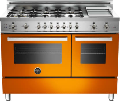 Bertazzoni Professional Series PRO486GGASARLP - Orange
