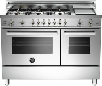 Bertazzoni Professional Series PRO486GGAS - Stainless Steel