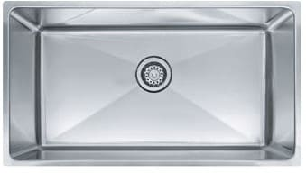 Franke Professional Series PSX110339 - Single Bowl Stainless Steel Sink
