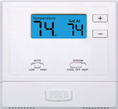 LG PYRCUCA0B - Wired Wall Thermostat