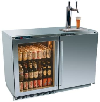 Perlick H2rtd3d1s 48 Inch Freestanding Beer Dispenser With