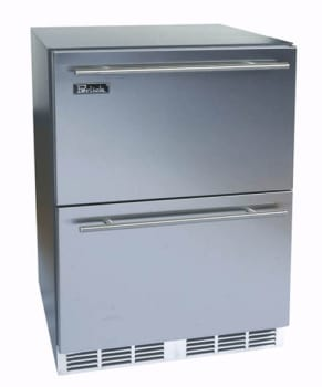 Perlick ADA Compliant Models HA24FB6 - 24-inch Freezer w/ Drawers