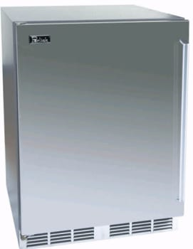 Perlick Signature Series HP24RS1L - 24-inch Stainless Refrigerator w/ Stainless Steel Door
