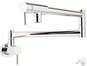 Rohl Modern Architectural Series QL66X2 - Polished Chrome (Metal Levers Shown)